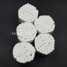 250 Dental Disposable Blood Sucking Absorbent Cotton Fibers Rolls Pliable 1038