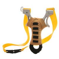 Slingshot Schleuder Zwille Katapult Sportschleuder Jagd mit Gummibänder
