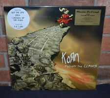 KORN - Follow the Leader Limited Import 180 Gram 2XLP GOLD VINYL #'d Jacket NEW!
