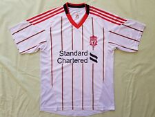 Liverpool FC Standard Chartered 2010 - 2011 Away Jersey Size S Luis Suarez #7