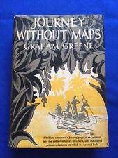 JOURNEY WITHOUT MAPS - FIRST AMERICAN EDITION BY GRAHAM GREENE