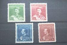 More details for czechoslovakia stamps. 1933 czech set. superb umm.  scarce.  high c/v.