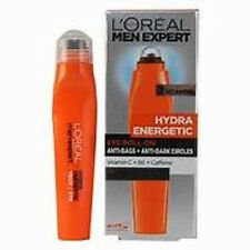 2 x Loreal Men Expert Hydra Energetic Eye Roll-On Anti Bags & Anti Dark Circles