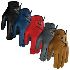 Callaway Mens Left Hand OptiColor Golf Glove Full Leather Adjustable Breathable