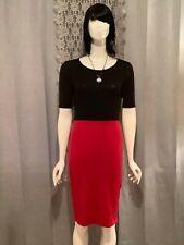 Lularoe Julia Dress NWT Black / Red XS #E49