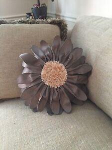 Flower Decor Pillow