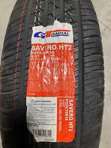 1 New 255 70 18 GT Radial Savero HT2 Tire