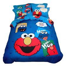 Sesame Street Queen Bed Quilt Cover Set