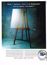 PUBLICITE ADVERTISING 025  1992  SAINT-GOBAIN VITRAGE