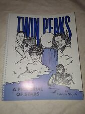**SALE**TWIN PEAKS PICTORIAL BOOK, 1993, Patricia Shook, **RARE**