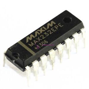 10PCS NEW MAX232EPE MAX232 DIP-16 MAXIM CHIP IC NEW