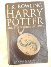 Harry Potter and the Deathly Hallows by J. K. Rowling (Hardback, 2007) FIRST ED