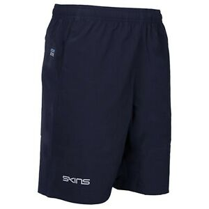 Skins 8'' Series Shorts - Mens - Navy - New - Sportswear - Rugby - Training