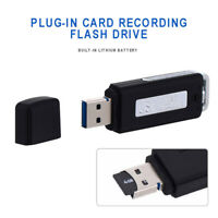 Mini 32G USB Flash Drive Voice Recorder Memory Stick Pen Audio Dictaphone U-Disk