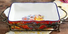 """The Pioneer Woman Celia Ceramic 14.5"""" Baker With Rack - 3.3 Qt. NEW SPRING 2018"""