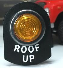 Land Rover Serie 2 2A 3 LED beleuchtet Bernstein Dormobile Dach Up Warnleuchte