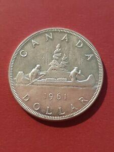 Canada 1961 Silver Dollar (800 Silver)