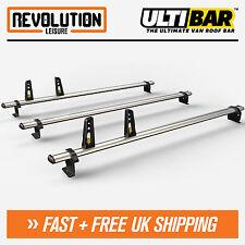 Ford Transit Custom Roof Rack Ladder Bars 3 x Van Guard ULTI Bar Low Roof 2013+