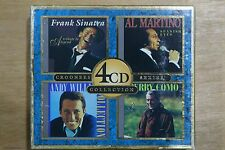 Frank Sinatra, Al Martino, Andy Williams, Perry Como - 4 Disc Collection  (C243)