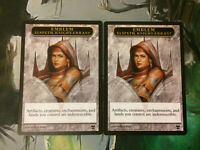 1x Elspeth Knight Errant Emblem Modern Commander EDH Magic the Gathering MTG