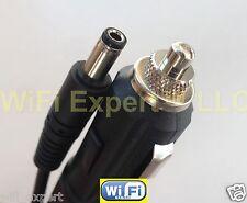 12V 12-Volt DC 2.5mm 5.5mm Car Cigarette Lighter Power Cable Plug Adapter USA