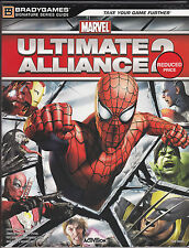 BradyGames Marvel Ultimate Alliance 2 Game Guide New