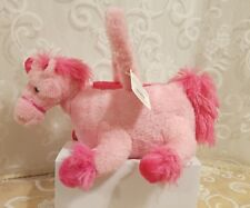 Unicorn Basket; Pink; Soft & So Fluffy ! For Easter and Many other Uses; NEW