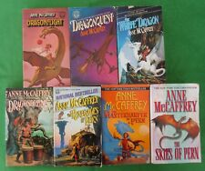 LOT 7 PAPERBACK DRAGONRIDERS OF PERN SERIES BY ANNE MCCAFFREY