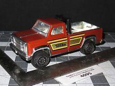 "Tonka 8"" Orange Pickup Truck With Roll Bars Made in USA (4095)"