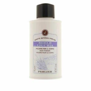 NEW Sealed PERLIER Miele Della Liguria Lavender Body Powder w/ Honey 100g 3.5 oz