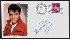 Elvis Presley Featured on Ltd Edition Collector's Envelope Repr Autograph *A990