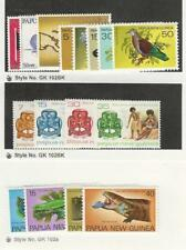 Papua New Guinea, Postage Stamp, #462-73, 478-81 Mint NH, 1977-8 Birds
