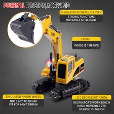 SALE! Remote Control Excavator RC Tractor Bulldozer Crawler Truck Toy Digger Car