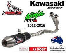 Kawasaki Ninja 650R / LAMS 2012-2016 S/Demon Full system exhaust