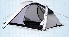 2 Person Backpacking Tent - GeerTop Shark 2 Tent - 3 Season Tent - GREY 2.67kg