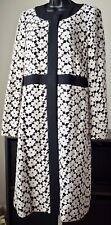Kate Spade Guipure Lace A-line Coat, Size 10