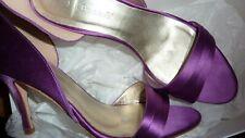 LK BENNETT UK 6 39 Violet Purple Satin Courts SOIGNE Shoes Weddings LTD RARE!!!!