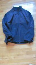 Chaps Men's RALPH LAUREN Blue Fleece/ Polyester Jacket Large Full-Zip