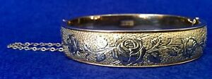 HAYWARDS 14C GOLD FILLED BANGLE.   EXCELLENT UNWORN CONDITION.  REDUCED!