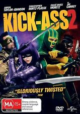 Kick-Ass 2 (DVD, 2013) regions 2,4,5 (WORST SEQUEL EVER MADE)