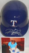 Robbie Ross Texas Rangers Autographed Signed Mini Helmet w/picture