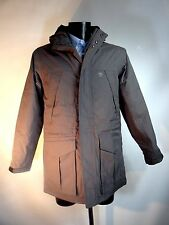 TIMBERLAND Grey / Taupe Waterproof PARKA Padded with Hood Size S BNWT