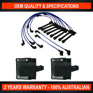 Swan Ignition Coil Pack & NGK Lead Kit for Lexus LS400 UCF10 / 11R / 21R