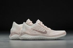 NEW WOMENS 6-11 NIKE FREE RN FLYKNIT 2018 RUNNING SHOES GUAVA ICE PINK 942839