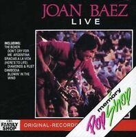 Joan Baez Live (1980) [CD]
