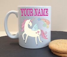 MAGICAL UNICORN PERSONALISED MUG CUP NAME BIRTHDAY MOTHERS DAY GIFT