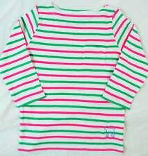 Mini Boden Long Sleeve Boat Neck Girls' T-Shirts & Tops (2-16 Years)