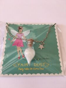 FAIRY DUST NECKLACE WITH WHITE FAIRY DUST. FAIRY TALES DO COME TRUE****