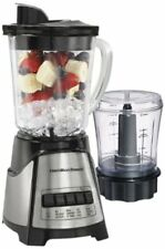 Table Blender Shake Maker Glass Jar Fruit Juice Ice Grind Stainless Steel Blade