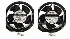 2 pc lot 172mm 52mm New Case Fan 110V 115V 120V AC 210CFM 2 Pin Ball 170mm 267*